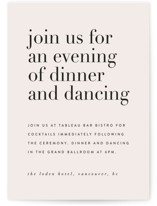 The Loden Reception Cards
