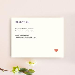 Destination Reception Cards