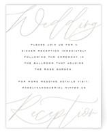 Cummings Reception Cards