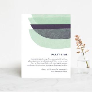 tissue union Reception Cards