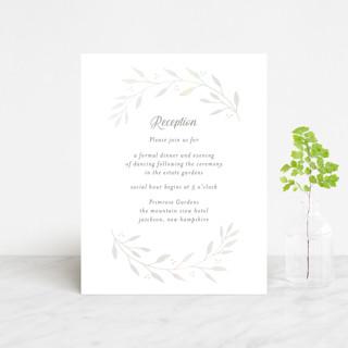 Vineyard Gloss-Press™ Reception Card