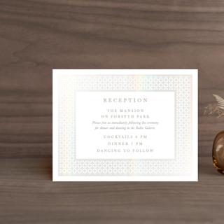 House of York Gloss-Press™ Reception Card