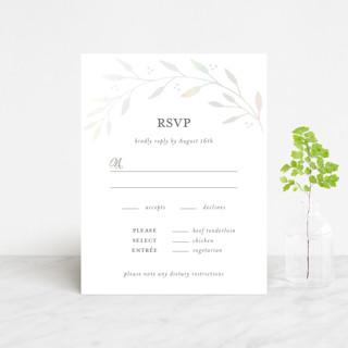 Vineyard Gloss-Press™ RSVP Cards