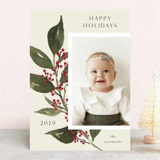 Branch of Peace Christmas Photo Cards