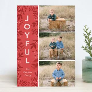 Joyful Surround Christmas Photo Cards