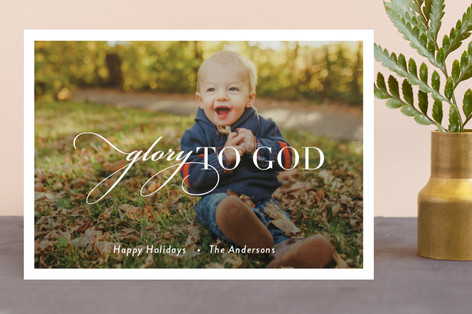Glorious Christmas Photo Cards