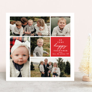 So Very Merry Together Christmas Photo Cards