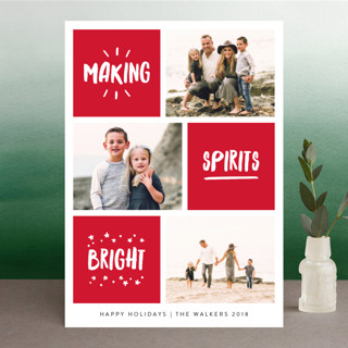 Blessed Bliss Christmas Photo Cards