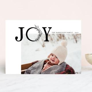 joy and love Christmas Photo Cards