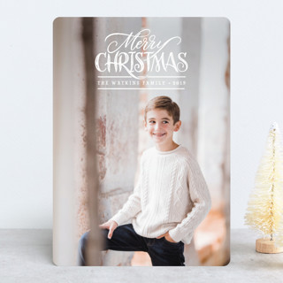 Simple Wishes Christmas Photo Cards