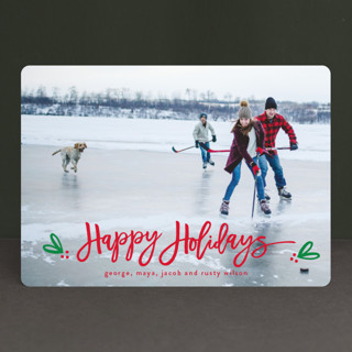 Berries of fun Christmas Photo Cards
