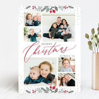 Christmas Sprigs Christmas Photo Cards