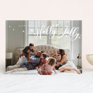 Confetti Joy Christmas Photo Cards