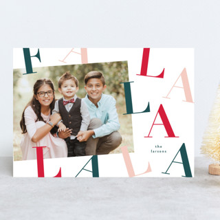 Dancing Christmas Photo Cards