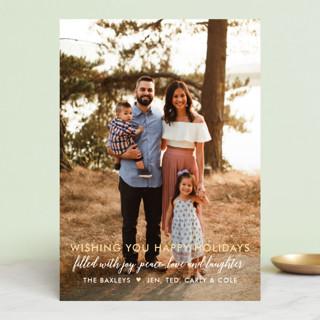 Glory Glory Christmas Photo Cards