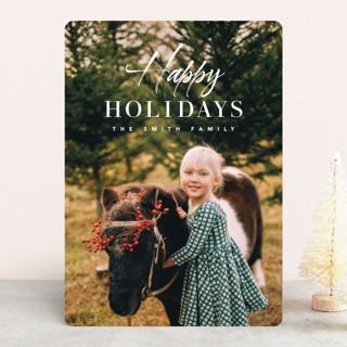 sending christmas blessing Christmas Photo Cards