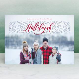 Hallelujah! Christmas Photo Cards
