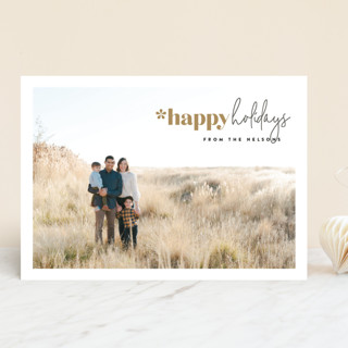 Mod Christmas Christmas Photo Cards