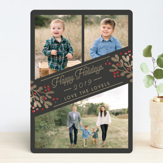 Cheers for the New Year Christmas Photo Cards