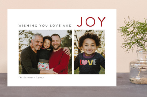 The Sounding Joy Christmas Photo Cards
