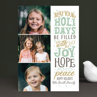 The God of Hope Christmas Photo Cards