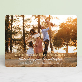 Glory Glory Christmas Photo Cards