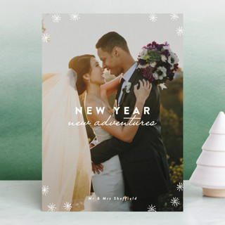 fireworks of love New Year's Photo Cards