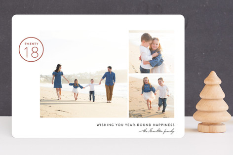 Year-Round Happiness New Year's Photo Cards