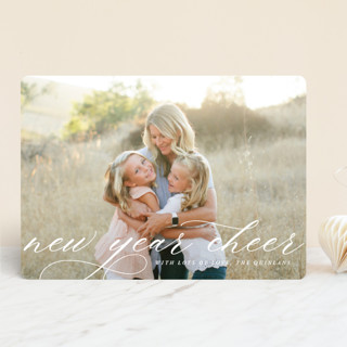 New Year Sophisticate New Year's Photo Cards