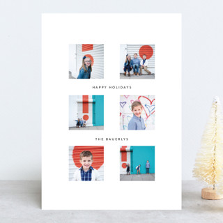 Cheerful Collage New Year's Photo Cards