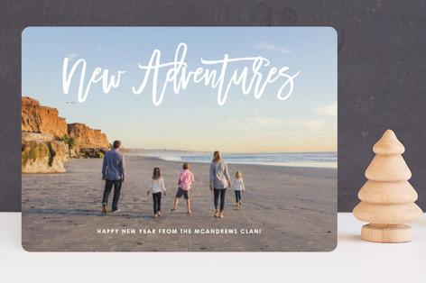 New Year, New Adventures New Year's Photo Cards