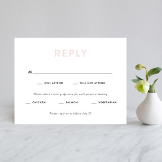 AND RSVP Cards