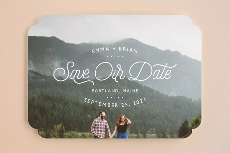Something New Save the Date Cards