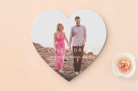 Genteel Save the Date Cards