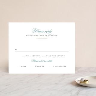 Charming Go Lightly Foil-Pressed RSVP Cards