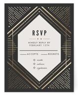 Big Spark Foil-Pressed RSVP Cards