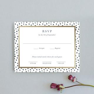 West Village Foil-Pressed RSVP Cards