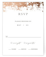 Woodland Hills Foil-Pressed RSVP Cards