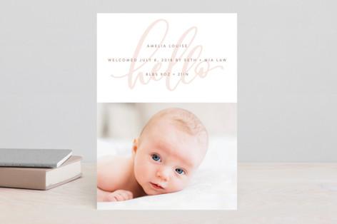 Watermark Birth Announcements