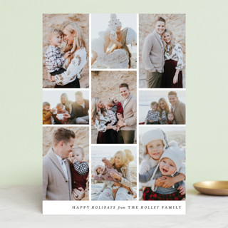 Columns Holiday Photo Cards