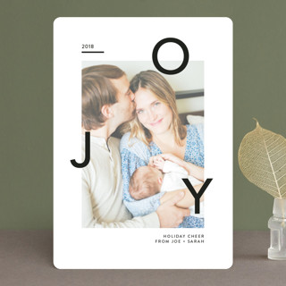 Floating Joy Holiday Photo Cards