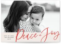 Peace + Joy by Paper Dahlia