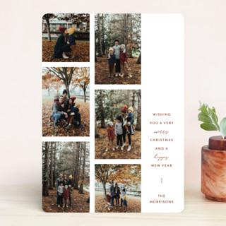 In writing Holiday Photo Cards