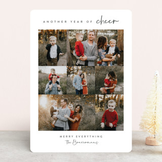 Year of Cheer Holiday Photo Cards