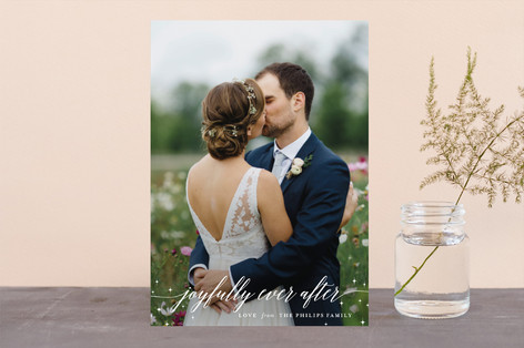 Ever After Holiday Photo Cards