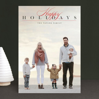 Time Honored Holiday Photo Cards