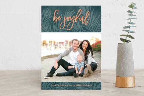 Lush Pine Holiday Photo Cards