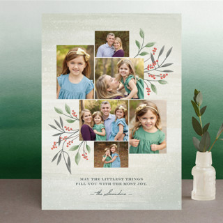 Littlest Things Holiday Photo Cards