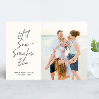 Witty Holiday Wishes Holiday Photo Cards
