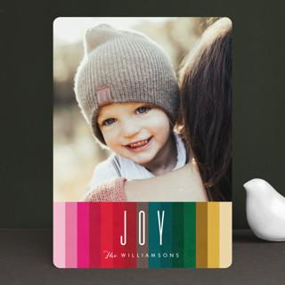 joy of many colors Holiday Photo Cards